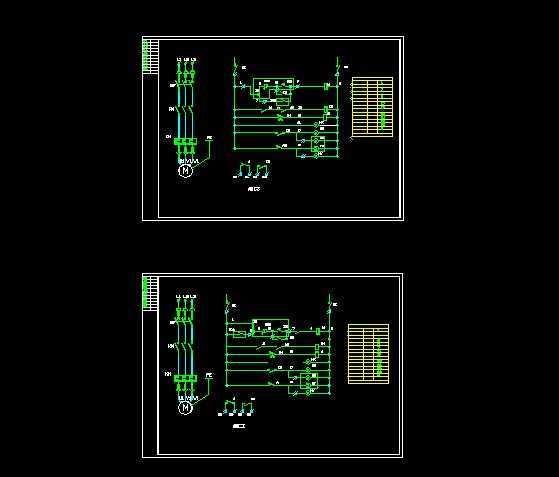 dcs控制系统中的电机控制原理图免费下载