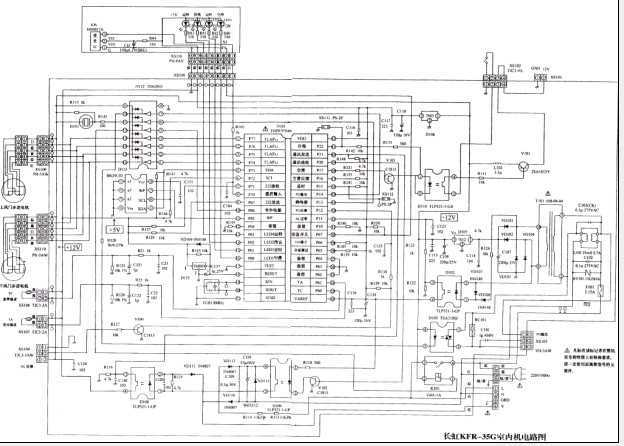 新型家用变频空调微电脑电路图