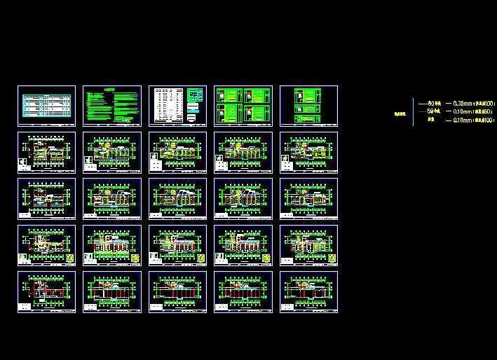 地上层数:5 层 出图时间:2010 年 设计阶段:施工图 设计内容:强电, 防雷接地 电力工程:10kV及以下变电所 供电方式:TN-S 安徽某民政局五层综合办公楼装修电气图纸内容介绍 本工程为某民政局综合办公楼装饰工程,设计范围包括:装饰配电插座、照明布置、弱电点位布置、装饰配电系统等。