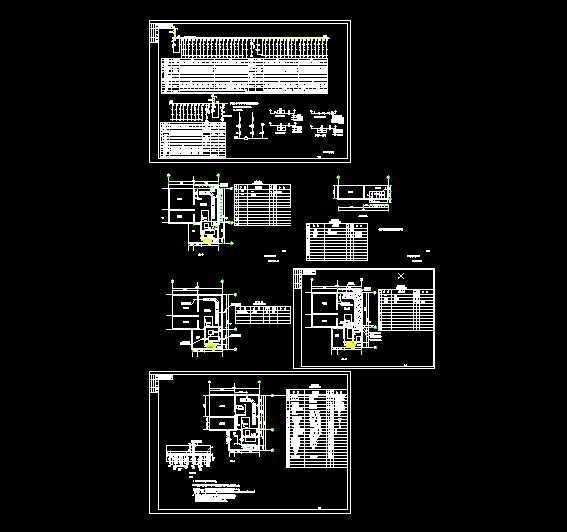 配电室电气施工图免费下载