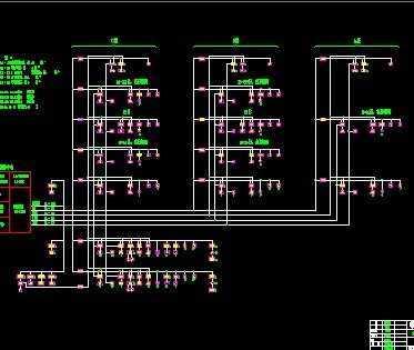 电气施工系统图