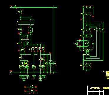 电动机星三角起动控制装置电路图免费下载