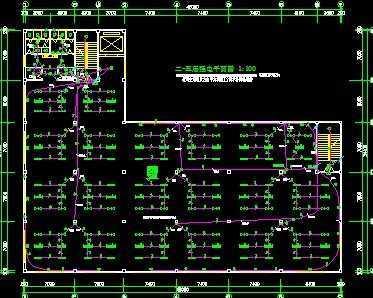 厂房电路设计图