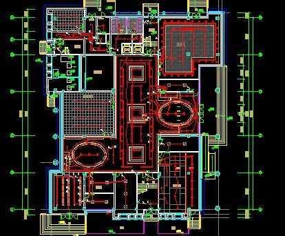 cad画电气图纸_电气装修布线施工图免费下载 - 电气图纸 - 土木工程网