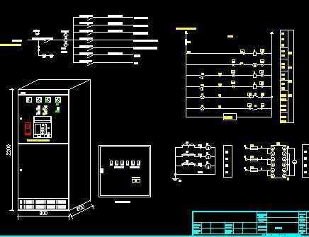 电箱规划图免费下载