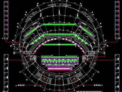 舞台灯光意思设计图免费下载cad图+r什么照明表示图片