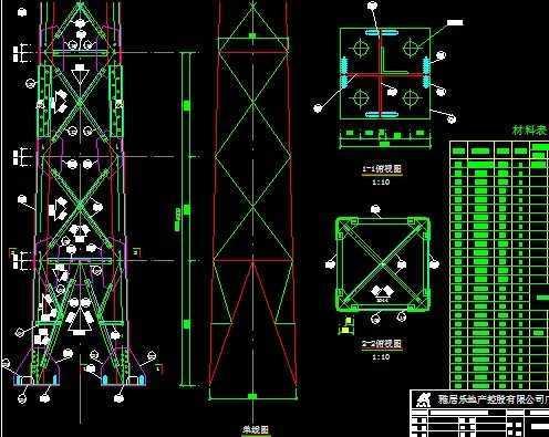 铁塔线路施工图