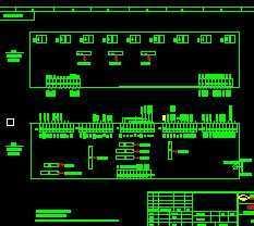 水电站励磁系统图免费下载服务台图纸图片
