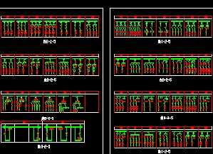 电气低压开关柜CAD弧度免费下载cad快捷键v电气图纸图片