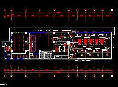 西餐厅装修设计图