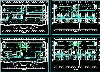 小区1250kva的10kv箱式变电站设计图