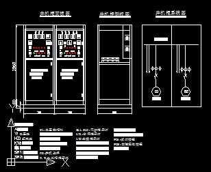 发电机并线路一二次机柜设计图免费下载中国杰出室内设计师图片
