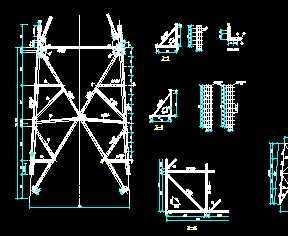 输电铁塔图纸设计线路免费下载符多久恒金棒详图文刷新图片