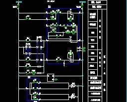 ABB土木二次设计图免费下载-婚纱电气-平面图纸手绘电气设计图图片