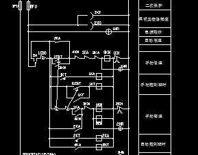 双速原理控制箱图纸图风机学画如何图片