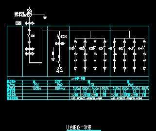 配电变压器低压一次接线设计图图片