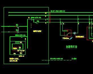 应急照明工程接线图