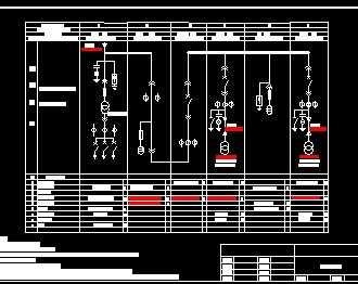 高压电气一次系统图