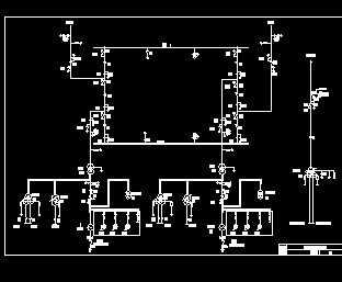 某发电厂500kv变电所主接线图