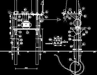 10kv变压器安装工程图