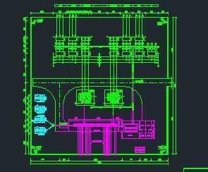 66kV输变电图纸设计图免费下载wow诺米工程图片