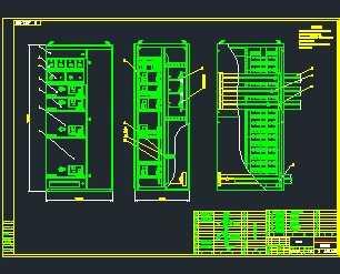 某配电柜MNS结构设计图免费下载 - 电气图纸 - 土木工程网