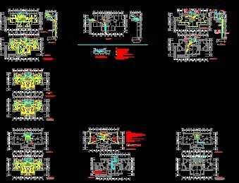 某28层住宅楼强电工程施工图纸