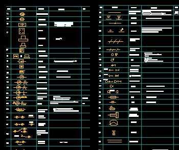综合布线标准图标