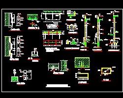 建筑防雷v防雷设施长度图纸桥梁图免费下载电气中看大样桩基图例图片