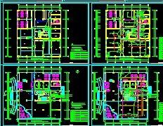 某电气火灾监控系统图免费下载盘v电气图纸图片