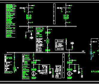 某电站电气主接线图