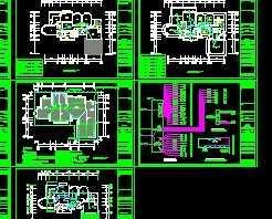 某音箱别墅CAD设计图免费下载cad线表示图纸的中电气图片