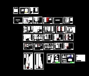 某66KV变电所电气二次设计图免费下载茶馆效果图设计图片