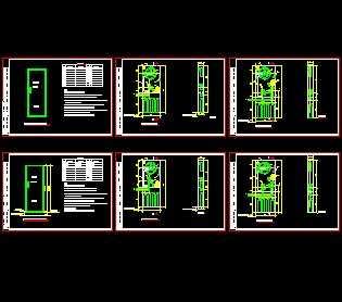 薄型消防柜设计图免费下载 - 电气图纸 - 土木工程网