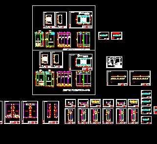 某干式变压器柜设计图免费下载 - 电气图纸 - 土木