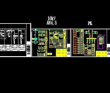 10kv变电所一次二次接线图免费下载