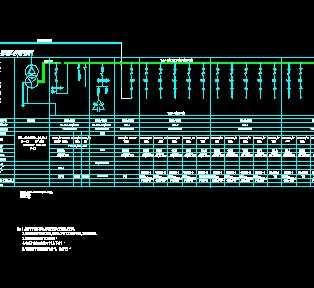 某宿舍区配电系统设计图