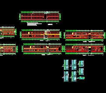 某住宅楼电气照明接地施工图