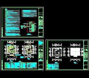 某小区传达室电路设计图免费下载