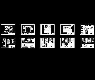 某工业园临时630kva箱变设计图