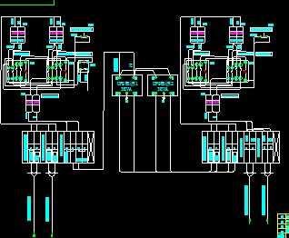 ac220v双电源自动切换原理图
