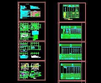 变电站变配电,照明,防雷接地系统图
