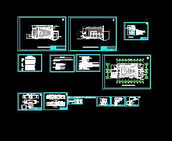 某大会议室电气设计图图片