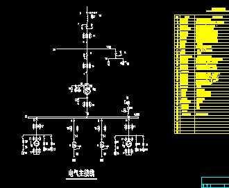水电站110kv主接线设计图