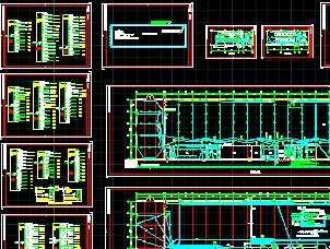 3000kva高低压配电室厂房设计图图片