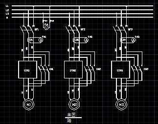 软启动器应用接线图