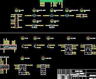 某医院综合楼联络柜设计图免费下载 - 电气图纸