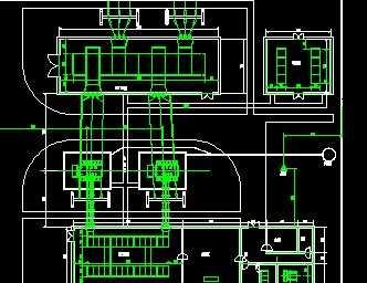 35kv变电站平面布置图