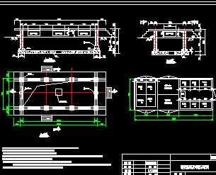 欧式箱式变电站基础图图片