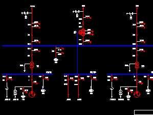 电站主接线图免费下载